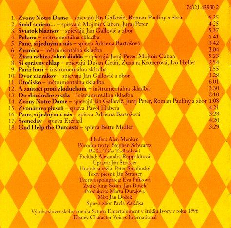 Ďalšie obrázky z cd : obrázokcd , z bookletu (výpis skladieb